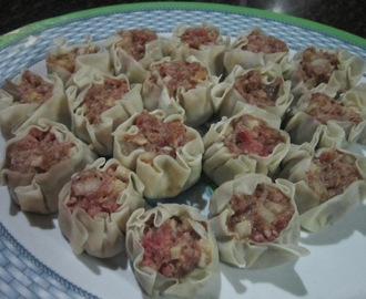 PORK & SHRIMP SIOMAI
