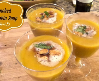 Smoked Pumpkin Soup Recipe
