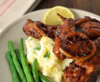 Sticky Lemon Chicken with Champ (Gordon Ramsay)
