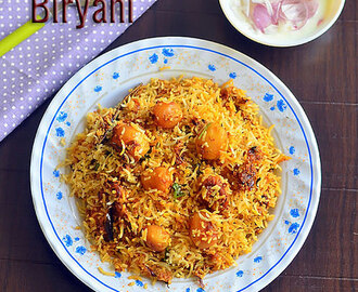Aloo Dum Biryani Recipe – Baby Potato Biryani – Small Potato Biryani