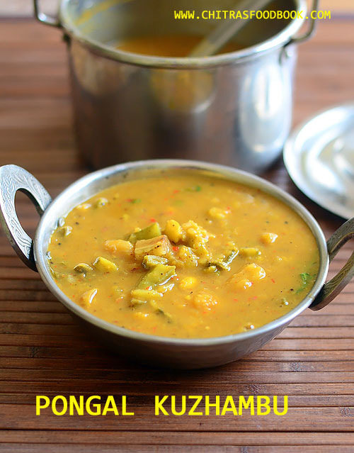 Pongal Kuzhambu – Pongal Festival Sambar With Mixed Vegetables