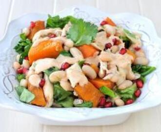 Butternut, Chicken and Bean Salad