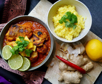 Butter chicken i Crock-Pot