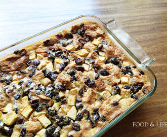 Childhood Staple: Bread and Butter Pudding