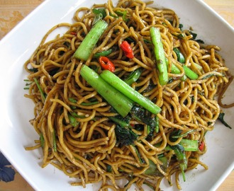 Indonesian Fried Noodle (Mie Goreng Indonesia)