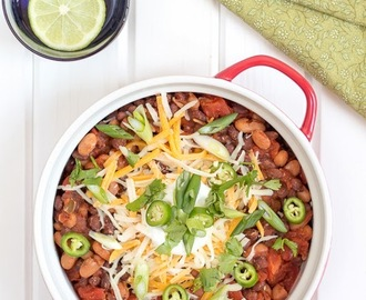 What's Cooking? Three Bean Chili