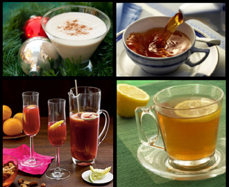 Healthy and Medicinal Drinks in Winter
