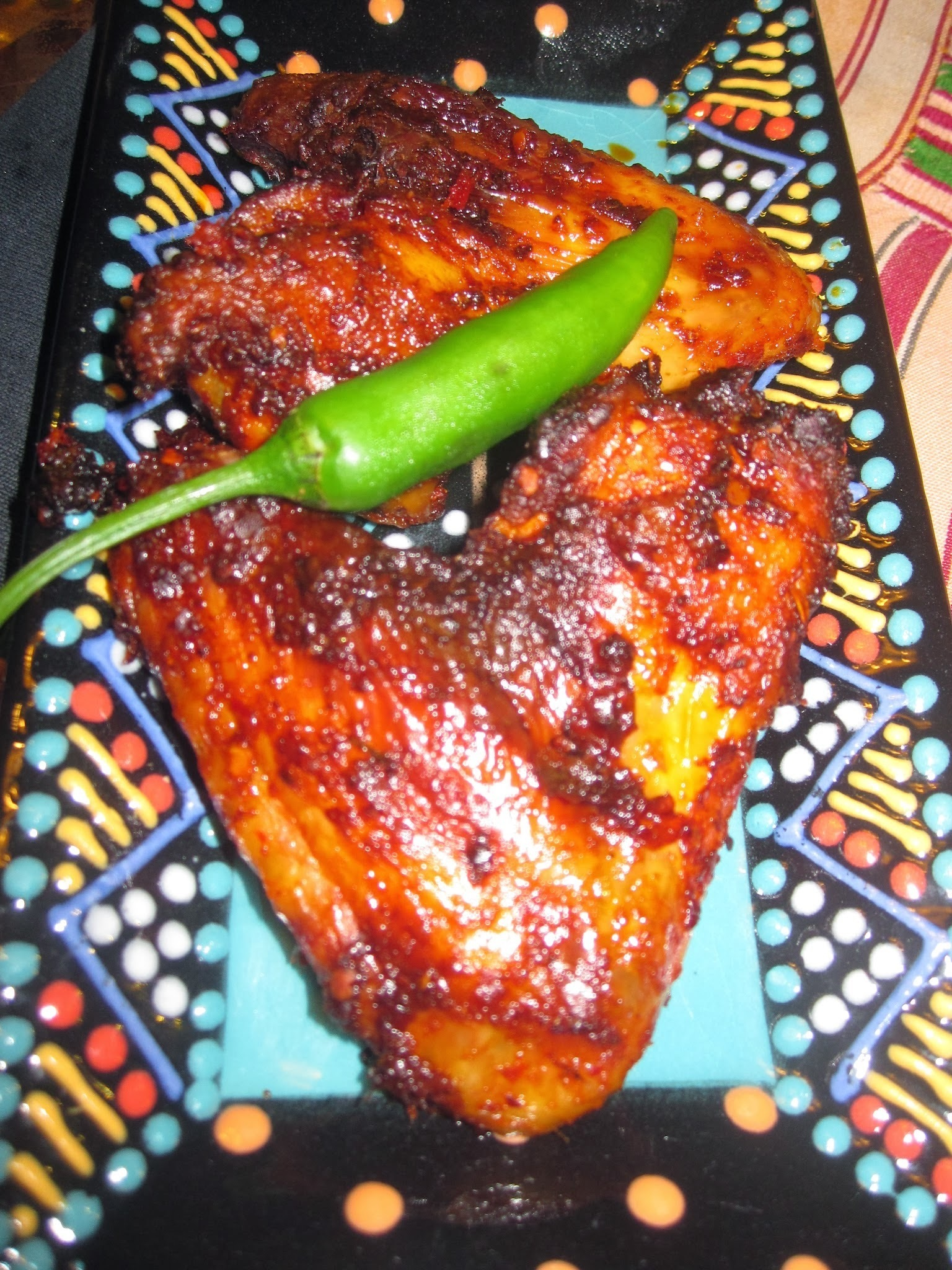 Mozambican Peri-Peri Chicken Wings Recipe