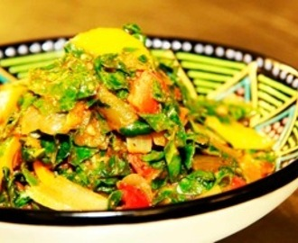 Congolese Spinach Recipe