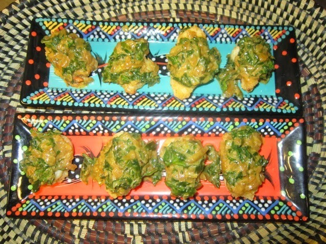 Tanzanian Fried Fish with Spinach and Coconut Recipe