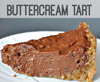 Raw Chocolate Buttercream Tart