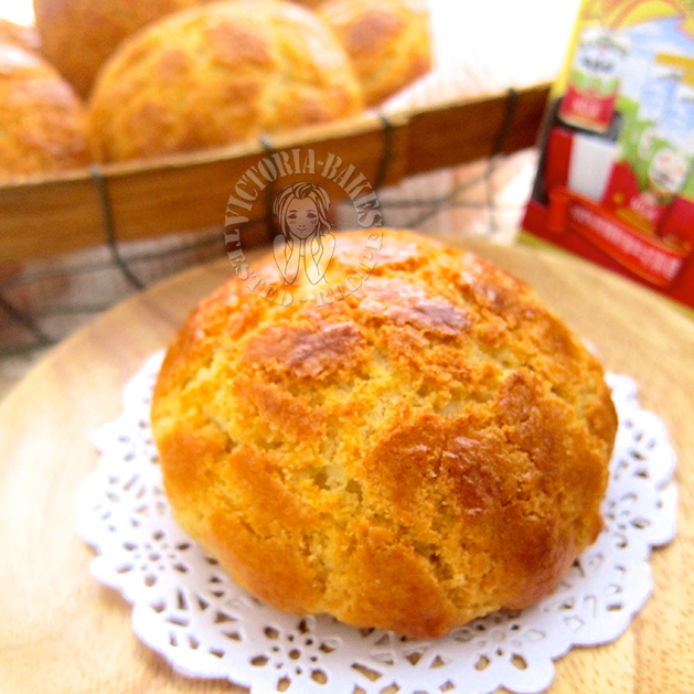 classic hong kong pineapple bun 典型港式菠萝包