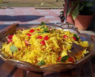 Vegetable Pulao(Pilaf)