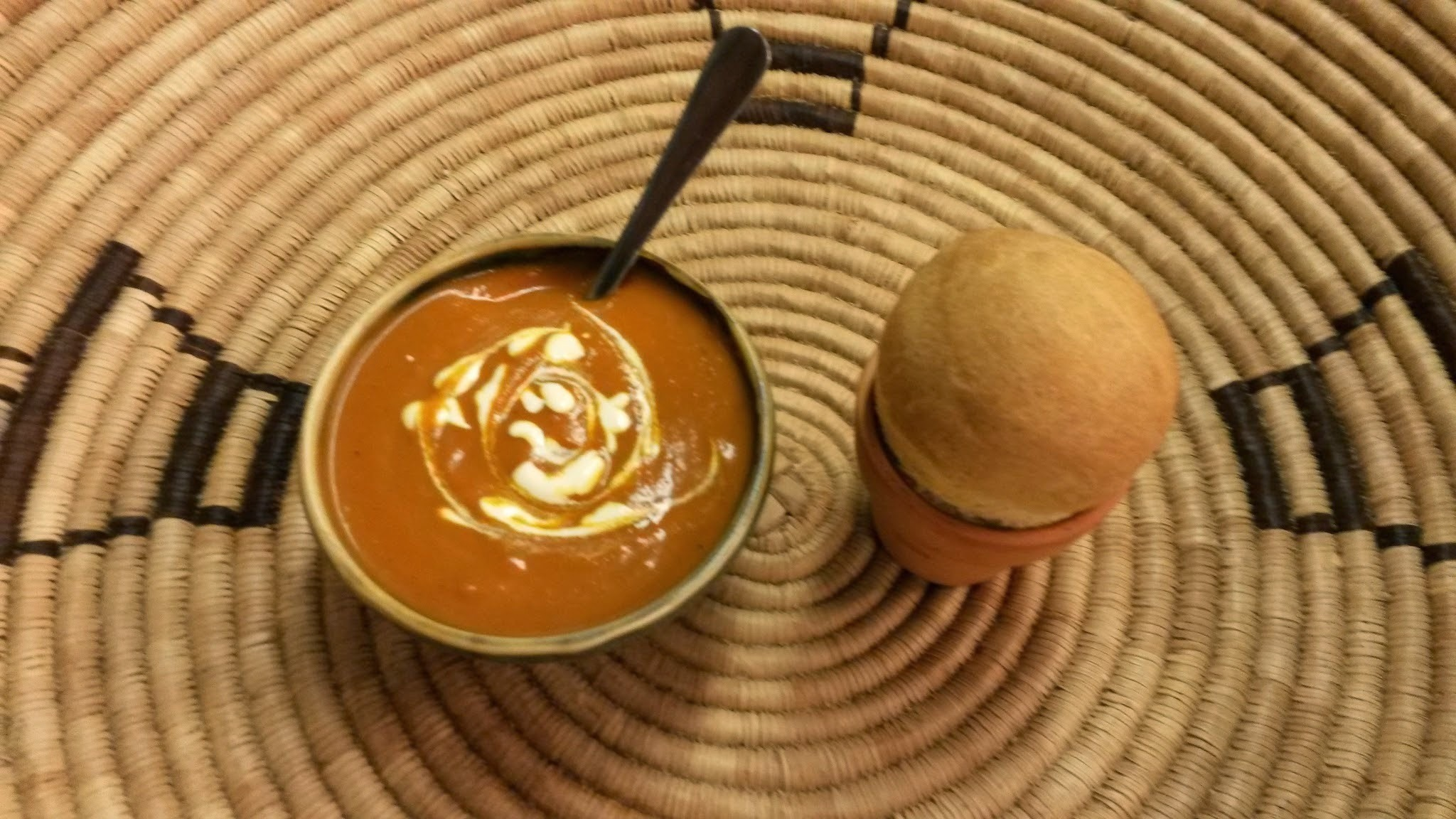 Spicy Tomato Soup Recipe and Xhosa-Inspired Pot Bread Recipe