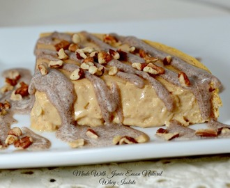 Sweet Potato Cheesecake Made With Jamie Eason Natural Whey Isolate Protein