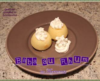 Mini Baba au Rhum (Thermomix)