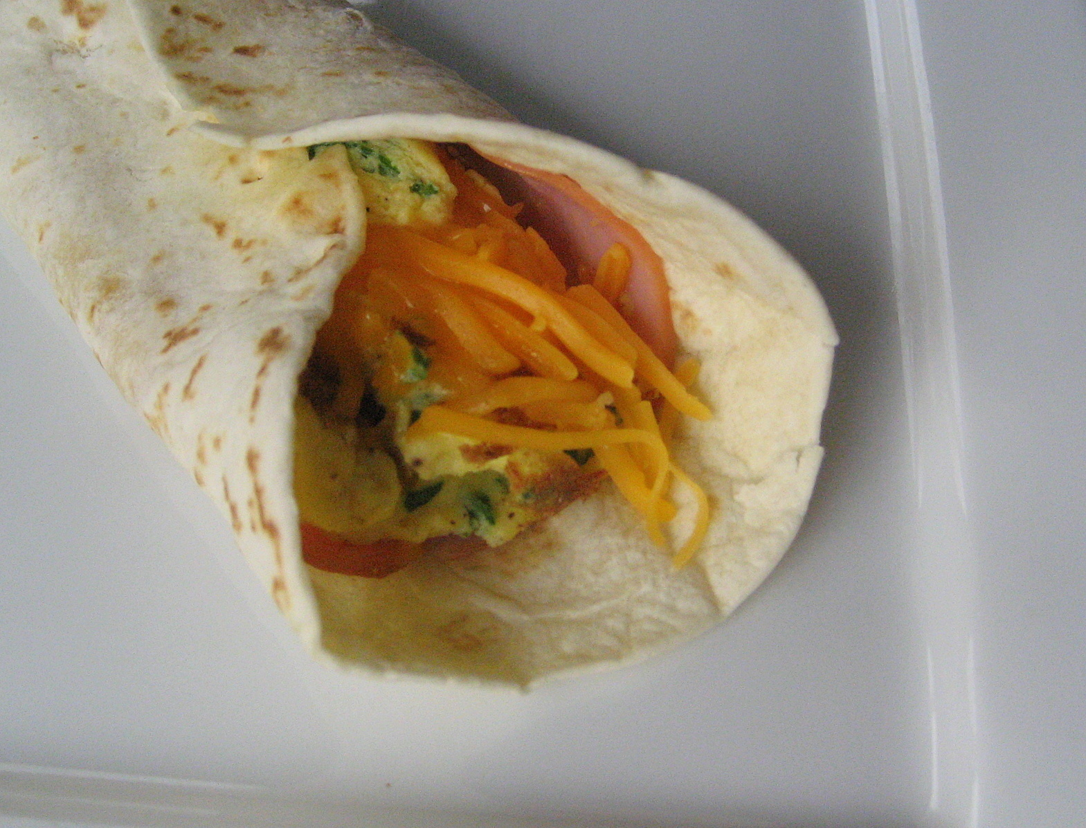 Breakfast Series: Breakfast Burrito