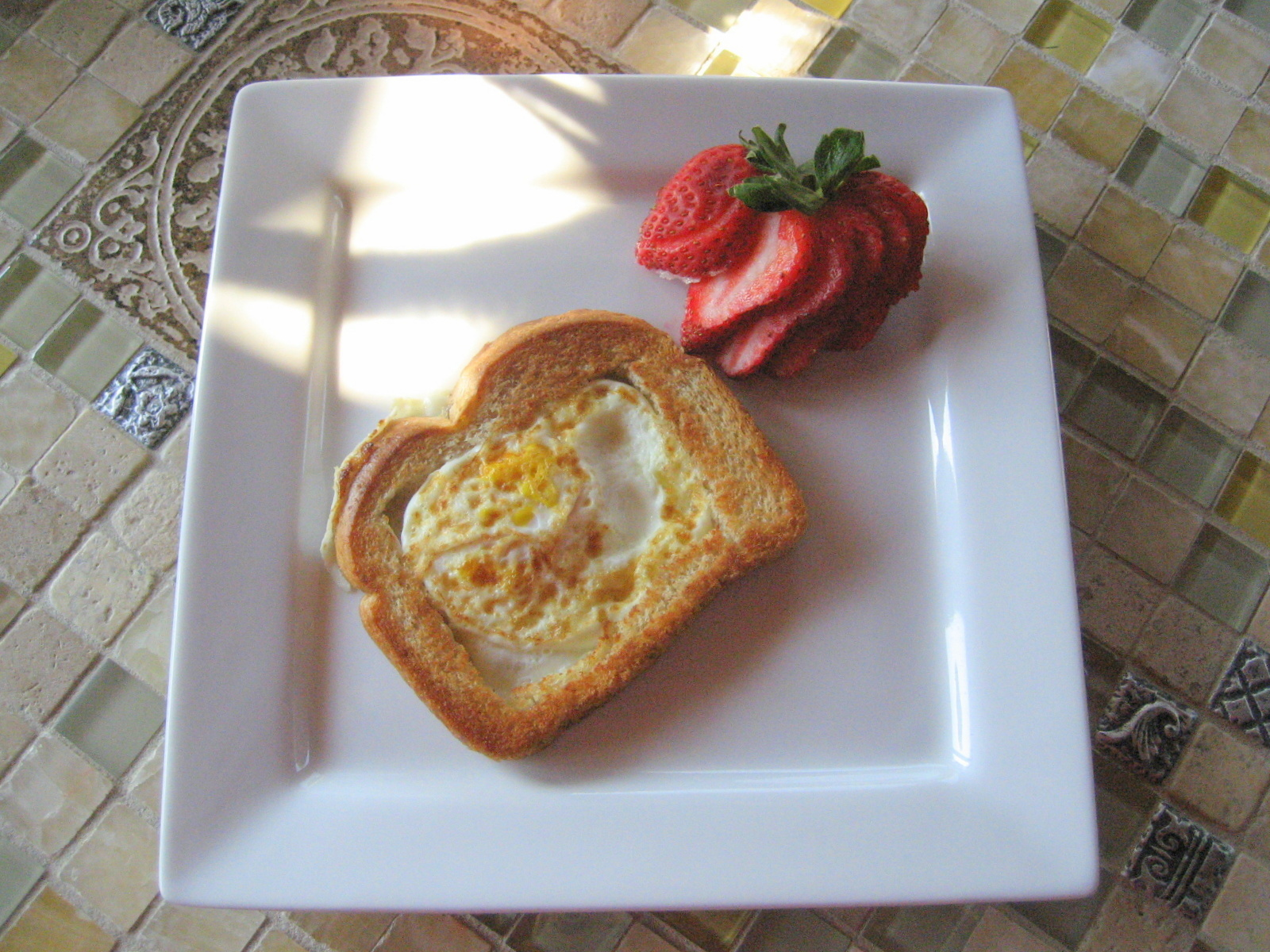 Breakfast Series: Egg in a Nest