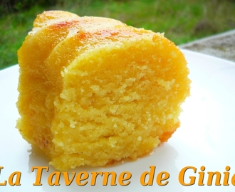 Gâteau à l'orange ultra fondant au sirop orange-fleur d'oranger