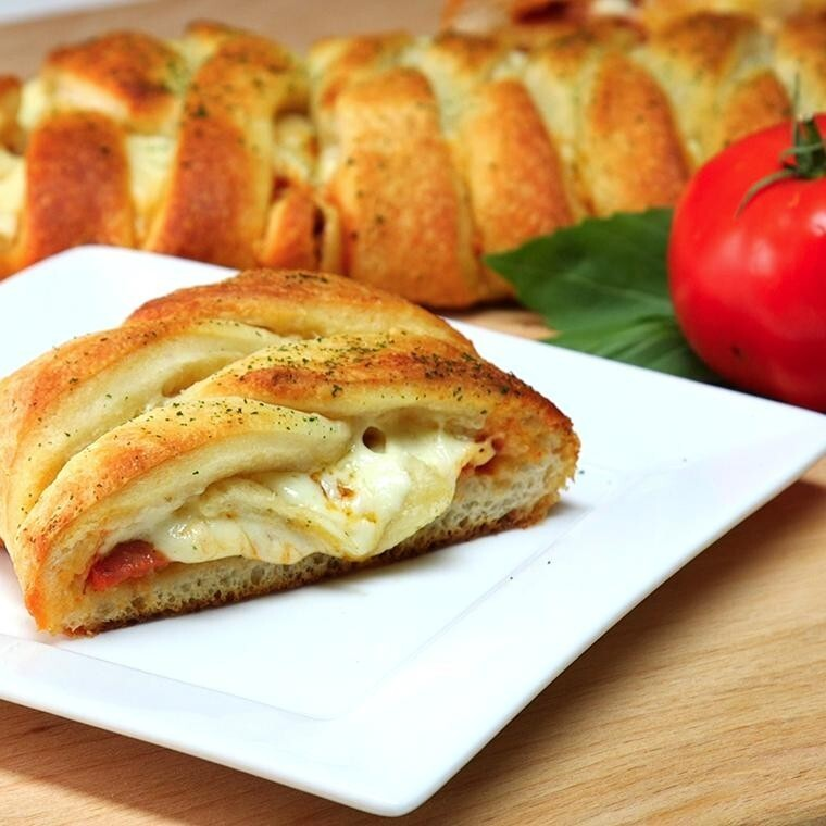 Easy-To-Make Pizza Braid