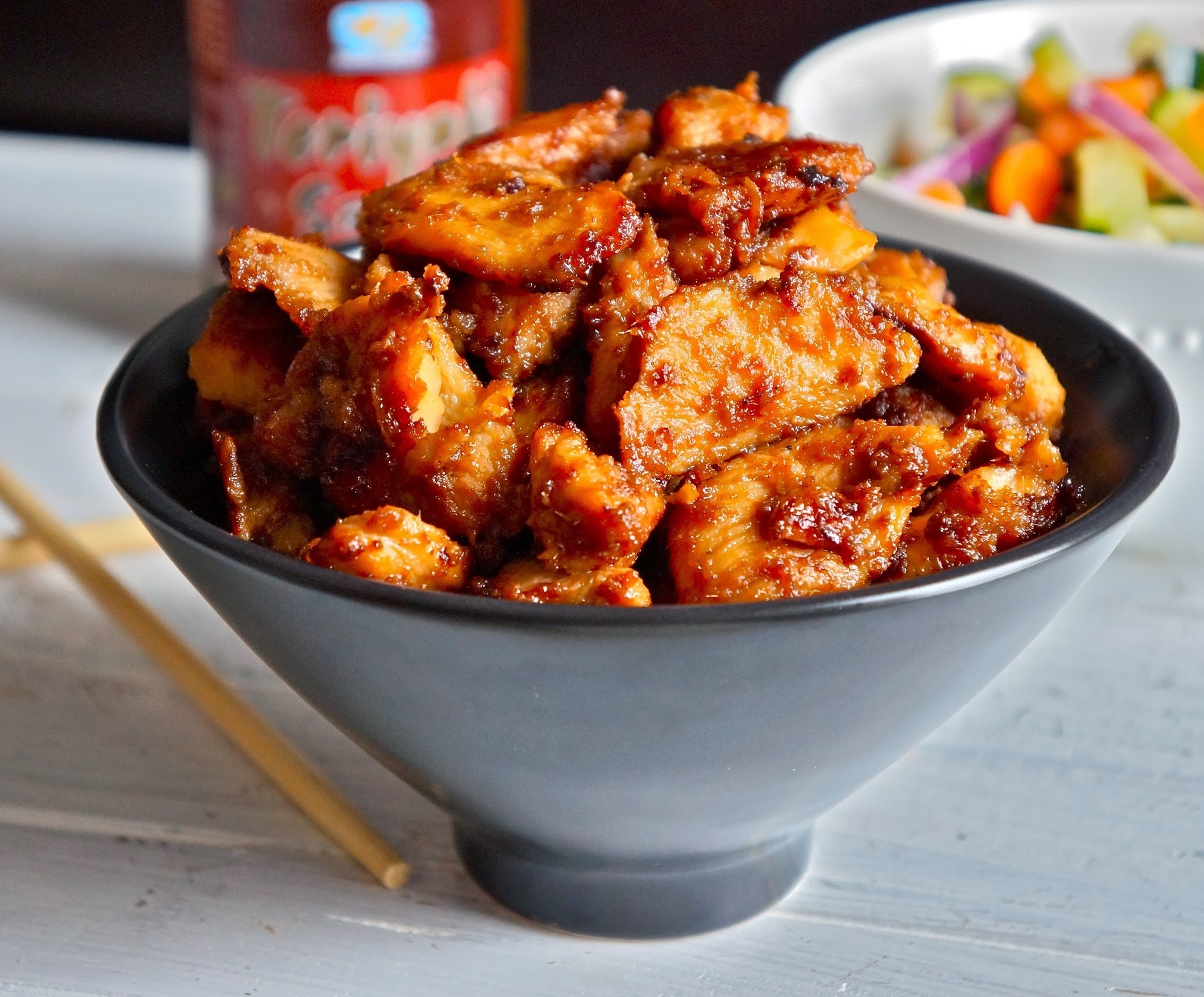 Chicken ginger teriyaki