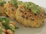 Gruyere Crusted Fishcakes