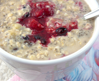 Overnight chia oats