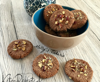 LowCarb Haselnuss Cookies