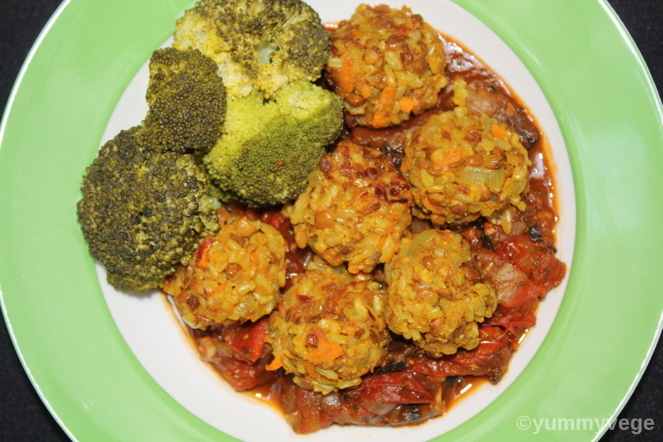 Vegan No-Meatballs
