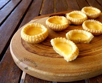 Puff Pastry Egg Tarts - 2 酥皮蛋撻