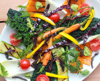 Grilled vegetable salad