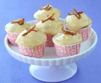 Date Cupcakes with Salted Caramel Icing