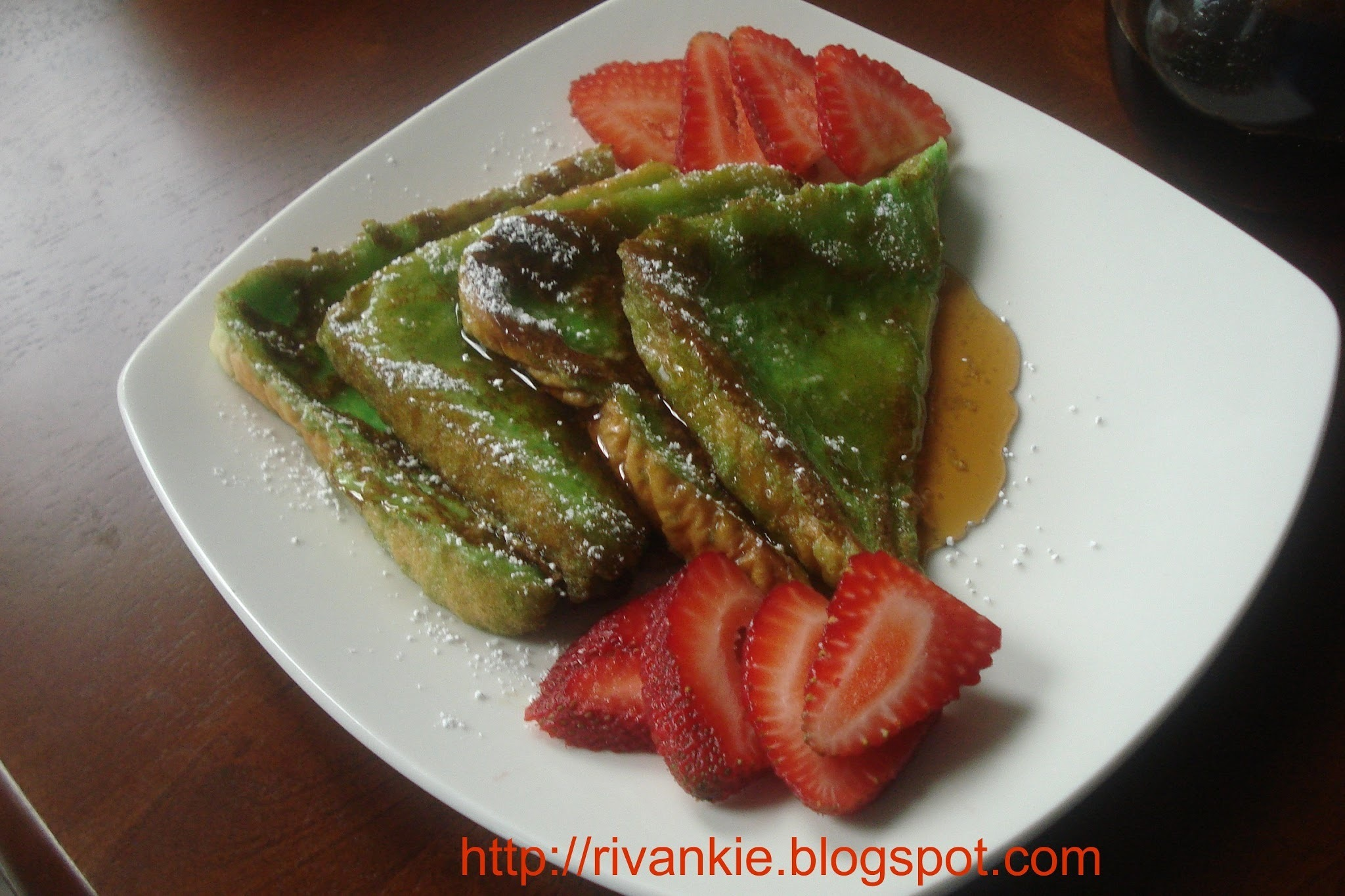 "Pandan ""French Toast"""