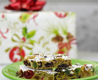 Christmas Fruitcake Bars