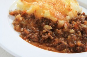 Overdue catch up and a banting cottage pie