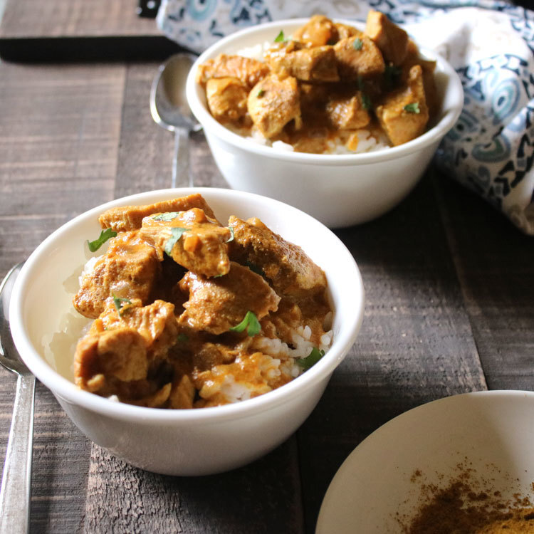 Instant Pot Chicken Curry Recipe – Quick Dinner Ideas
