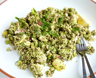 Raw Food Recipe Quick Grind Salad