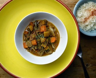 tired veg thai coconut curry