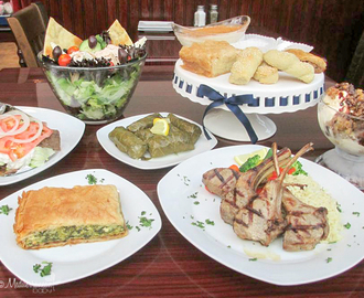 Andros Greek Restaurant Review and Gift Card Giveaway
