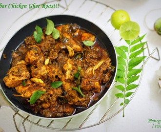 Chicken Ghee Roast/Mangalorean Chicken Curry..
