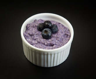 Chia Berry Protein Pudding