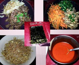 Home-made Bibimbap