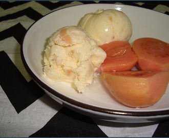 Guava ice cream