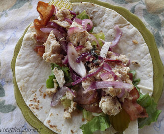 ~ Summer Salad Wrap ~