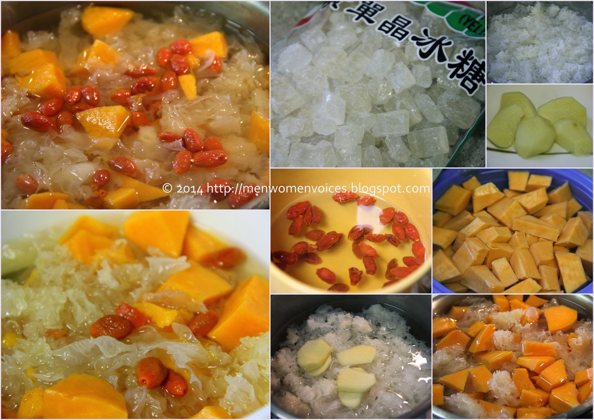 红薯银耳枸杞糖水 Sweet Potatoes White Fungus Wolfberry Desert