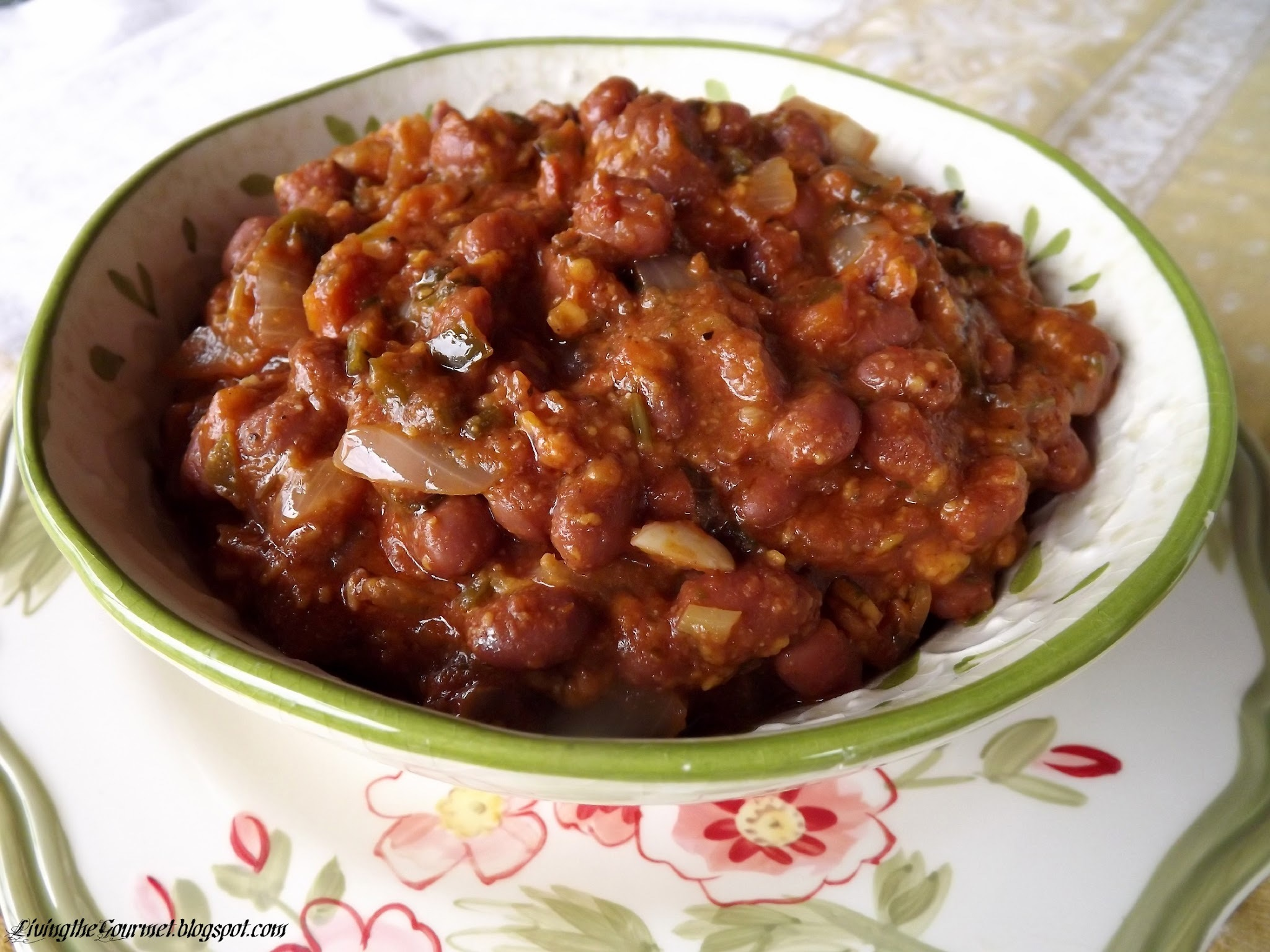 ~ Meatless Chili Bake ~