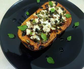 Roasted Stuffed Butternut
