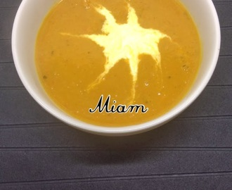 Potage de Courge Butternut au curry !