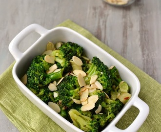 Buttery Garlicky Broccoli (Thanksgiving Side dish)