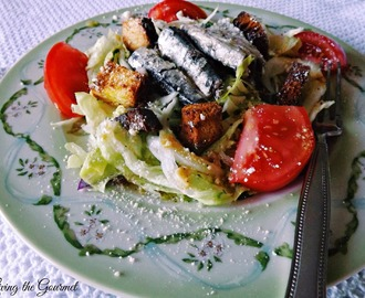 Caesar Salad ~ Featuring Wild Planet White Anchovies